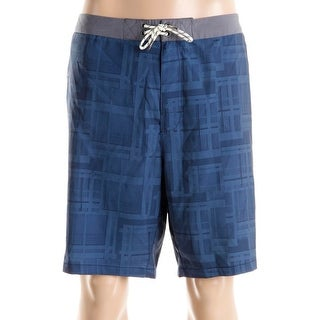 Tommy Bahama Mens Maui What Sup Lace-Up Printed Board Shorts - 40