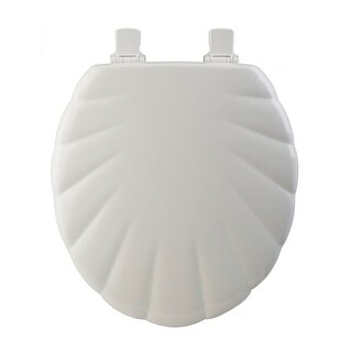 Bemis 22 Round Closed Front Toilet Seat With Cover And No-Wobble Hinges