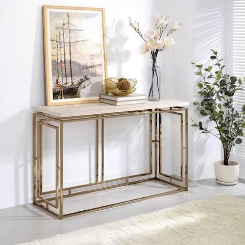 Furniture of America Angelina Contemporary Sofa Table