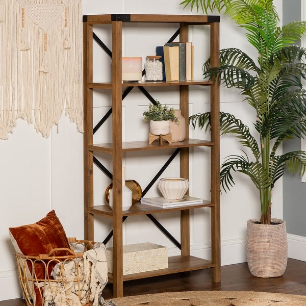 The Gray Barn Kujawa 64-inch Tall Bookshelf. Opens flyout.