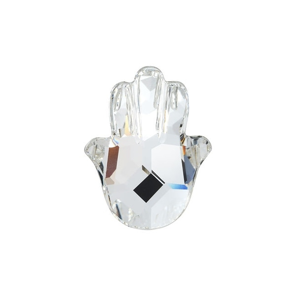 Swarovski Elements Crystal, 4778 Fatima Hand Fancy Stone 18x13.7mm, 1 Piece, Crystal F