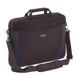 Targus Neoprene Sleeve Designed For 17-Inch Notebooks, Black/Blue Accents (Cvr217)