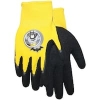 Midwest Quality Glove SFB100T DC Super Friends Batman Gripping Glove, Yellow/Black