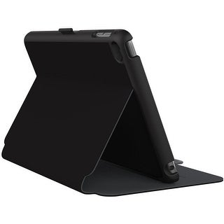 Speck StyleFolio Vegan Leather Case for iPad mini 4 - Black/Slate Grey