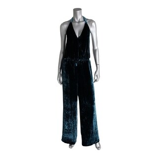 Free People Womens Jumpsuit Velvet Lace-Up