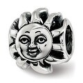 Sterling Silver Reflections Sun with A Face Bead (4.5mm Diameter Hole) - Thumbnail 0