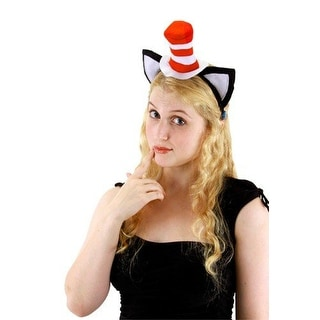 Dr. Seuss Cat In The Hat Adult Costume Headband