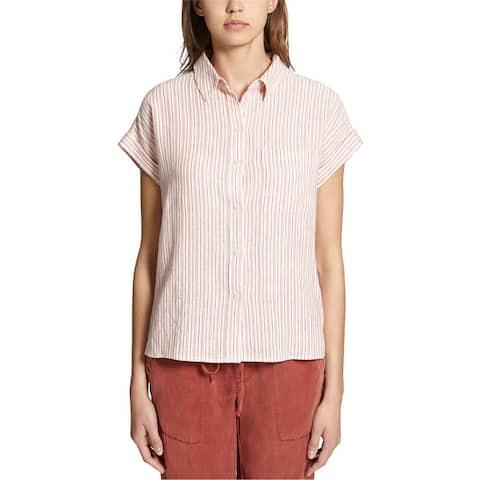 Sanctuary Clothing Womens Mod Ss Button Up Shirt