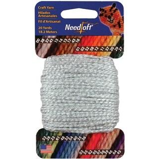 Needloft Craft Yarn 20yd-Baby Blue