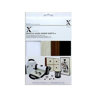 Docrafts Xcut Xtras Adhesive Sheets A5 Wood Effect