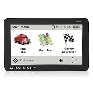 "Rand McNally TND525 5""Widescreen Display w/ Truck-Specific Routing"