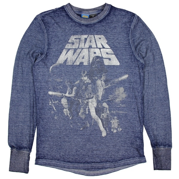 Star Wars Men's Thermal Blue