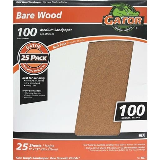 Ali Ind. 100G Garnet Sandpaper 4227 Unit: BOX