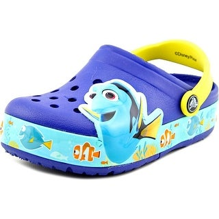 Crocs Finding Dory Round Toe Synthetic Clogs