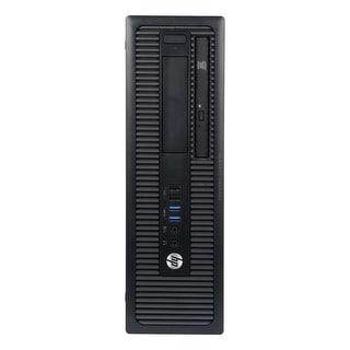 HP ProDesk 400G1 Desktop Computer SFF Intel Pentium G3420 3.2G 4GB DDR3 250G Windows 10 Pro 1 Year Warranty (Refurbished)
