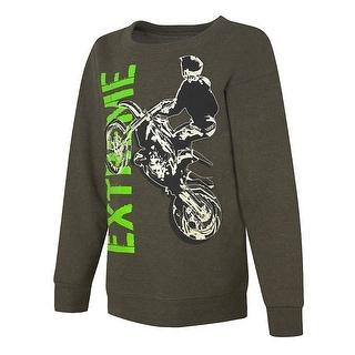 Hanes EcoSmart Boys' Extreme Crewneck Sweatshirt - XL