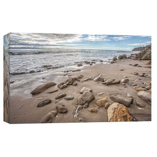 """PTM Images 9-102260  PTM Canvas Collection 8"""" x 10"""" - """"Thousand Steps Beach"""" Giclee Coastlines Art Print on Canvas"""