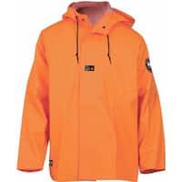 Helly Hansen Workwear Mens Fox Creek Jacket High Visibility -  Orange