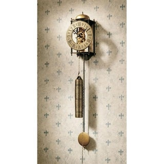 Design Toscano The Templeton Regulator Wall Clock