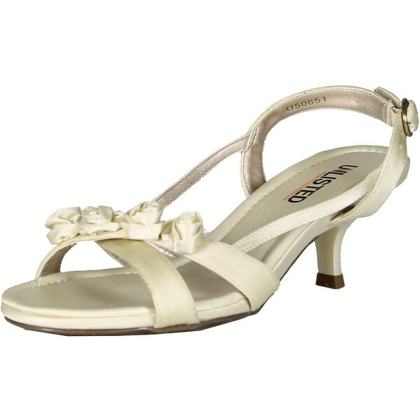 Unlisted By Kenneth Cole Womens Two Of Kind Dress Party Sandals