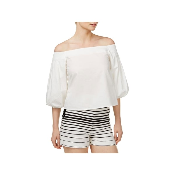 61898449ece94 Shop Mare Mare Womens Rina Blouse Off-The-Shoulder Elbow Sleeves ...