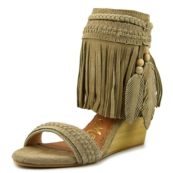 Naughty Monkey Simply Spirited Women Camel Sandals