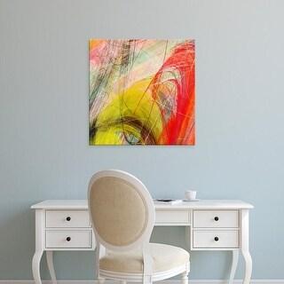 Easy Art Prints James Burghardt's 'String Tile I' Premium Canvas Art