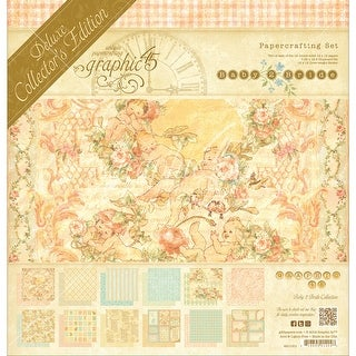 "Graphic 45 Deluxe Collector's Edition Pack 12""X12""-Baby 2 Bride"