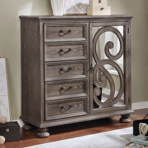 Furniture of America Dileep Transitional Armoire