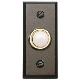 Atlas Homewares DB644 Mission Lighted Button Doorbell