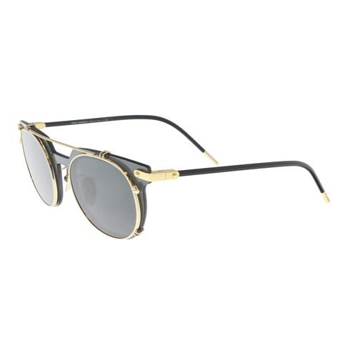 Dolce & Gabbana DG2196 02/87 Grey Oval Sunglasses - 49-22-145