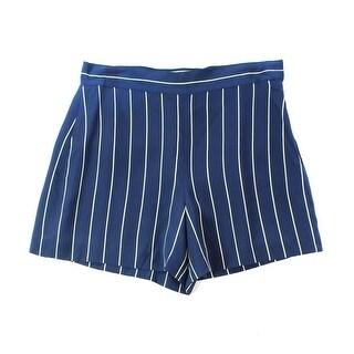 Polo Ralph Lauren NEW Blue Navy Women's Size 6 Striped Silk Shorts