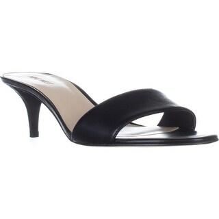 Nine West Lynton Slide Dress Sandals, Black
