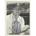 Justin Pope New Jersey Cardinals Cardinals Affiliate 2001 Bowman Heritage Autographed Card Minor League Card This