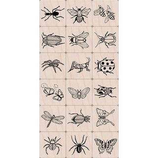 """Hero Arts Ink 'n Stamp Tub 3""""X4""""-Bugs"""