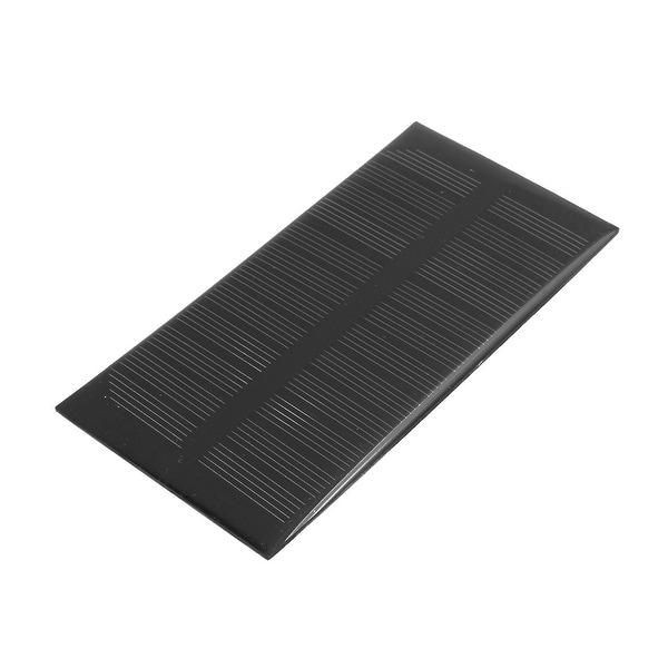125mm x 63mm 1 Watt 6 Volt Monocrystalline Solar Cell Panel Module
