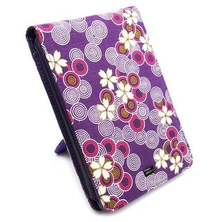 JAVOedge Cherry Blossom Fabric Flip Style Case with Built In Stand for Amazon Kindle Touch