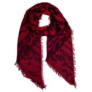 Gianfranco Ferre DU1C3108/1 Red Paisley Scarf