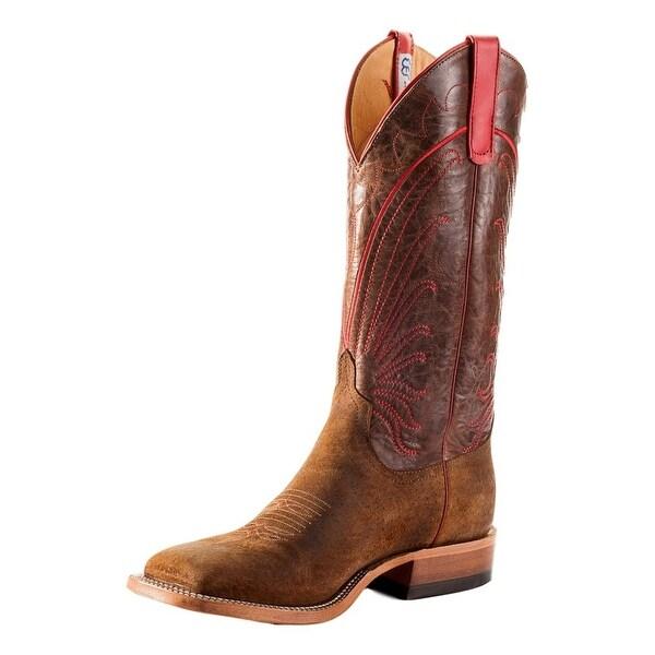 Anderson Bean Western Boots Mens Cush N Sole DB Toe Tag Boar
