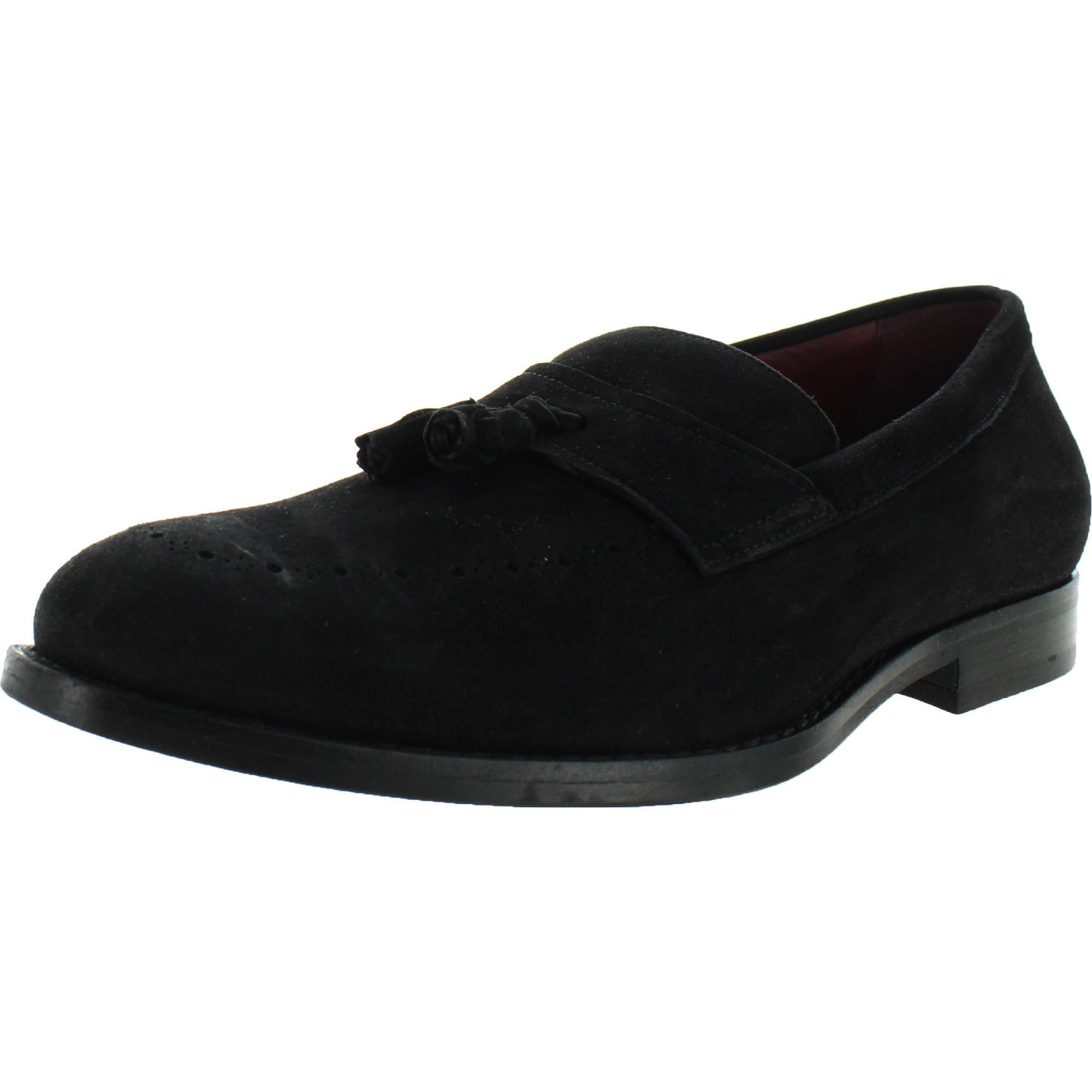 Migración Opaco su  Geox Respira Mens Hampstead Tassel Loafers Solid Slip On - Overstock -  32054002