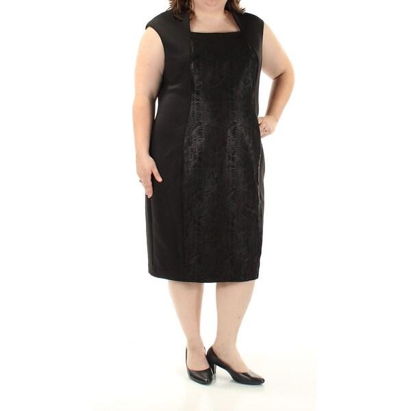 Below-The-Knee Length Black Cocktail Dresses
