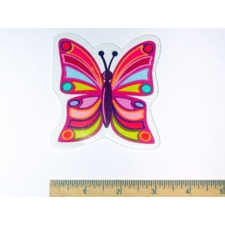 """12 Butterfly Note / Memo Pads 3"""" X 3.25"""" 30 Unlined White Pages New"""
