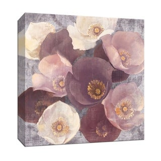 """PTM Images 9-152505  PTM Canvas Collection 12"""" x 12"""" - """"Eventide Plum"""" Giclee Flowers Art Print on Canvas"""