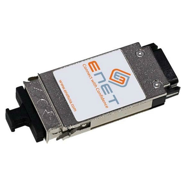 ENET WS-G5484-ENC Cisco WS-G5484 Compatible 1000BASE-SX GBIC 850nm 550m Duplex SC MMF 100% Tested Lifetime Warranty and