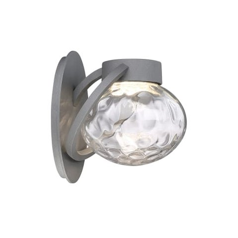 Modern Forms WS-W31509 Boule 1 Light LED Indoor / Outdoor Lantern Wall Sconce - 7.25 Inches Wide