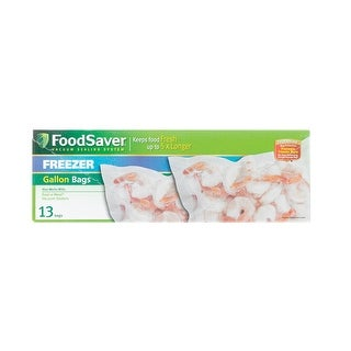 "Foodsaver FSFSBF0316-000 Pre Cut Vacuum Sealer Bags,  11"" x 14', Clear"