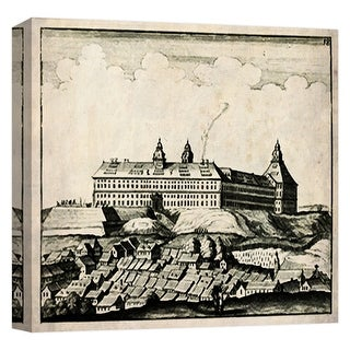 "PTM Images 9-124674  PTM Canvas Collection 12"" x 12"" - ""Castle 3"" Giclee Rural Art Print on Canvas"