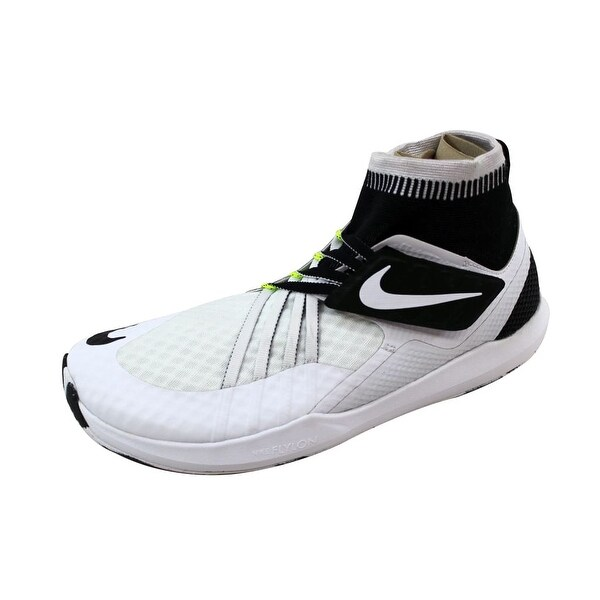 Nike Men's Flylon Train Dynamic Black/Bright Mango-Grove Green 852926-100