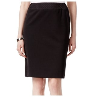 Tahari by ASL NEW Black Women's Size 14P Petite Straight Pencil Skirt