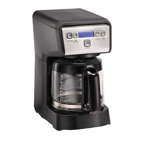 Hamilton Beach 12 Cup Compact Programmable Coffee Maker